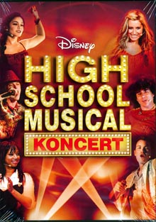 High School Musical Koncert DVD