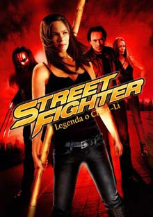 Street Fighter Legenda o Chun-Li DVD film