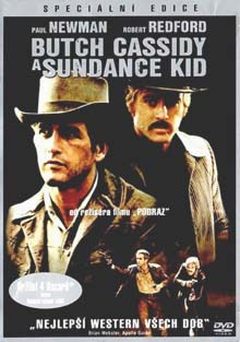 Butch Cassidy a Sundance Kid DVD film