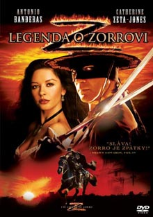 Legenda o Zorrovi DVD