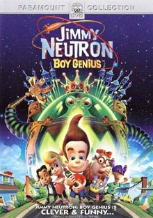 Jimmy Neutron DVD