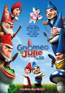 Gnomeo a Julie 3D DVD