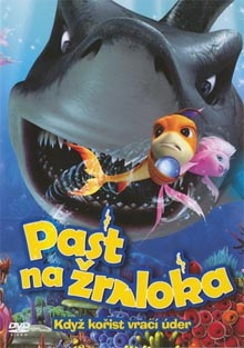 Past na žraloka DVD