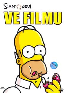 Simpsonovi ve filmu DVD