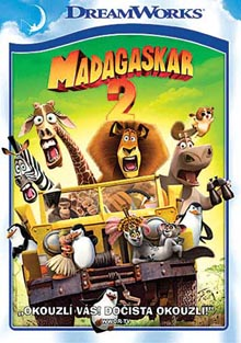Madagaskar 2: Útěk do Afriky DVD