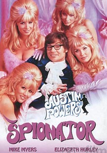 Austin Powers: Špionátor DVD