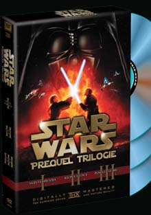 Star Wars Prequel trilogie DVD